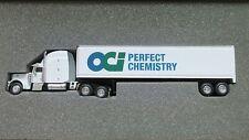 """NIB NEW 1/64 PETERBILT SEMI TRAILER TRUCK LIBERTY DIECAST OCI CHEMISTRY 11.5"""""""