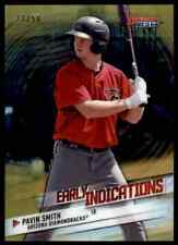 2018 Bowman's Best Early Indications Gold Refractor Pavin Smith 23/50 Dbacks