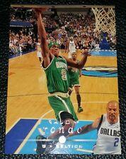 2008-09 UPPER DECK RAJON RONDO BOSTON CELTICS #11 COLLECTABLE BASKETBALL CARD