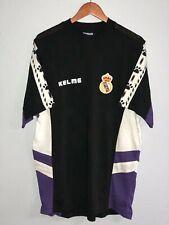 Kelme Real Madrid Vintage Training Jersey T Shirt NWT Mens (L)