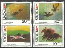 Macau - Tierwettkämpfe Satz postfrisch 1990 Mi. 663-666