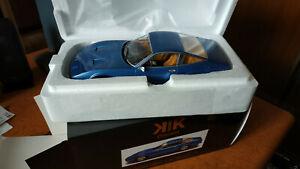 Ferrari 365 GTC4 - 1:18 KK scale NEUVE Limited edition 750 couleur Bleu Métallic