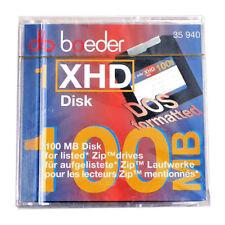 BOEDER → Reorder: 35 940 → XHD Disk 100MB para Unidades ZIP aquí indicadas.