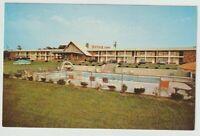 Unused Postcard Seaport Motor Inn Mystic Connecticut CT Swimming Pool
