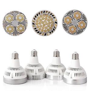 35W PAR30 E26 E27LED Spot Light Bulbs OSRAM Chips Cool Neutral Warm White Lamp