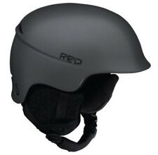RED Theory Ski Snowboard Helmet Dark Satin Gray Small (55-57 CM) - New!