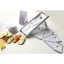 Kitchen Vegetable Mandoline Slicer Food Cutter Stainless Steel V-Blade Grat