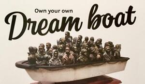 Banksy show boat original show print flyer domestic product
