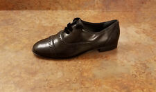 New! Tory Burch 'Haverford' Cap Toe Oxford Shoes Black Womens Size 5 M MSRP $378