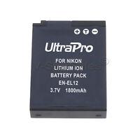 EN-EL12 ENEL12 Battery for Nikon Coolpix S8100 S8200 S9100 S9300 S9400