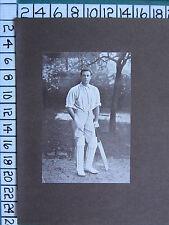 1909 PRINT ~ Warren Bardsley Australian test cricketer by Thomas Henry