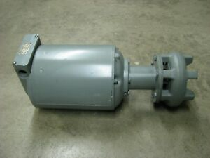 GUSHER Coolant Pump 1/2 hp 1725 rpm 3-phase 11021-S