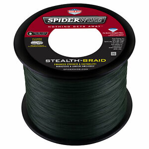SPIDERWIRE STEALTH Braid 1500 Yards - Green - Pick Line Class Free FAST Shipping