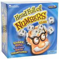 Learning Resources Head Full Of Numbers , New, Free Shipping