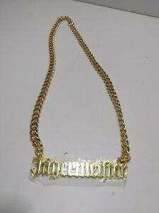 Jagermeister Liqueur Advertising Metal Chain Necklace With Logo