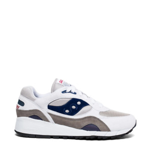 Saucony Shadow 6000 Trainers White / Grey / Navy