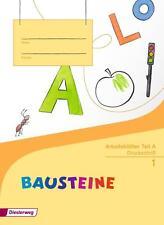Bausteine 1: Druckschrift - Arbeitsblätter Teil A & B [2 Bände, broschiert]