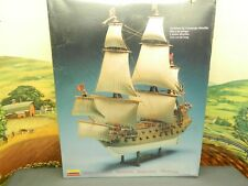 """1:133 Kit Lindberg No. 70873 CAPTAIN KIDD PIRATE SHIP 14"""" LONG New Sealed Box"""