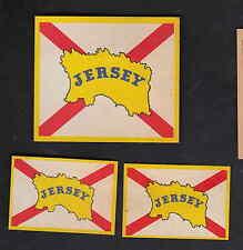 Ancienne  étiquette allumette Belgique  BN8036 Jersey