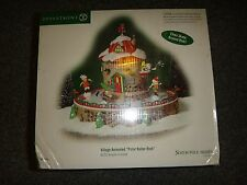 DEPT 56 North Pole Series Animated Polar Roller Rink In Sealed Box 56764  NIB