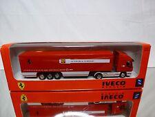 NEW RAY 47023 IVECO STRALIS TRUCK - SCUDERIA FERRARI - 1:87 - NEAR MINT IN BOX