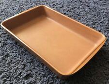 Vintage Emile Henry Baking Roasting Dish - Burnt Orange - Made In France