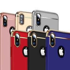 Luxury Electroplating 3in1 Case Cover For Apple iPhone X 5 5S SE 6 6S 7 8 8 Plus