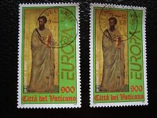 VATICAN - timbre yvert et tellier n° 1105 x2 obl (A28) stamp