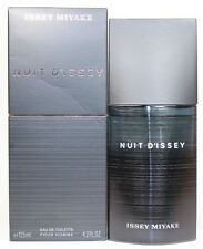 Nuit D'Issey By Issey Miyake 2.5/2.6 Edt Spray For Men New In Box