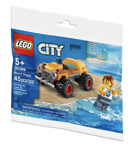 LEGO 30369 CITY Beach Buggy w/Surfer Mini-fig NEW! Sealed! RETIRED