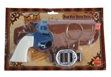 Smiffys Wild West Cowboy Water Pistol Toy Gun /w Belt & Holster Accessory Set