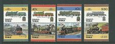 1986 Funafuti-Tuvalu Trains set 8 Complete MUH/MNH as purchased from P/ Office
