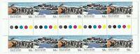 2004 10 x 50c Stamps 'AAT Mawson Station 1954 - 2004' MNH Se-tenant Gutter Strip