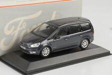 Generation 2006-2014 1//43 Minichamps Modell Au.. Ford Galaxy Van Grau Schwarz 2