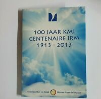 Coincard mit 2 Euro Gedenkmünze Belgien 2013 BU - Meteo. Institut -