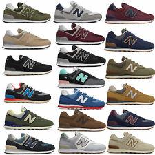New Balance 574 Core Classic Herren-Schuhe Sneaker Wildleder Veloursleder Leder