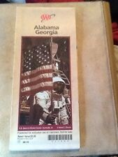 1999 Alabama-Georgia AAA Highway Map