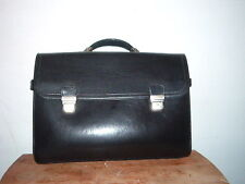 CONTINENTAL CARRYON DOUBLE BUCKLE BLACK style #8969 NEW
