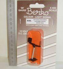 Berko B30L - 2-Aspect, Left Offset - Red/Green - Platform Starter, New.(00)