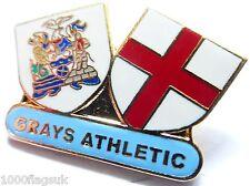 Gris Athletic Football Club Broche Pins Dernier