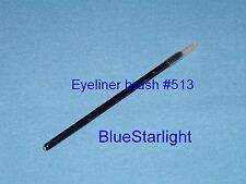 1000 disposable fine tip eyeliner eye liner brush Taklon animal free #513-10