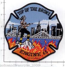 New York City NY Fire Dept Engine 63 Patch v11