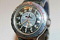Watch Vostok Komandirskie Wostok Vintage Wristwatch USSR Rare Russia Soviet Boat