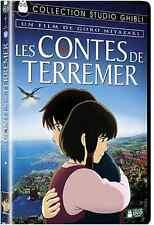 DVD Disney Studio Ghibli Les Contes de Terremer Hayao Goro Miyazaki Walt Hayao