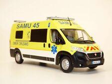 Ambulance FIAT DUCATO SMUR Samu 45 Orleans 1/43