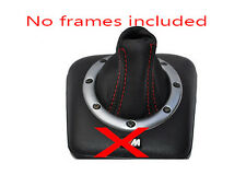 FITS BMW E36 M3 SMG 91-98 LEATHER GEAR GAITER red stitch