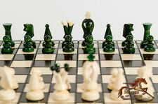 Juegos de color principal verde de madera