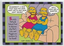 1994 Skybox The Simpsons Series 2 Smell-O-Rama chase card # 7 of 10