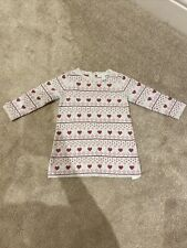 White Company Girls Winter Dress 9-12 Months
