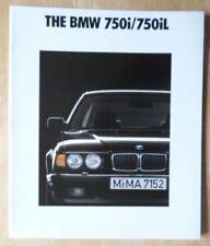 7 Series 1992 Car Sales Brochures